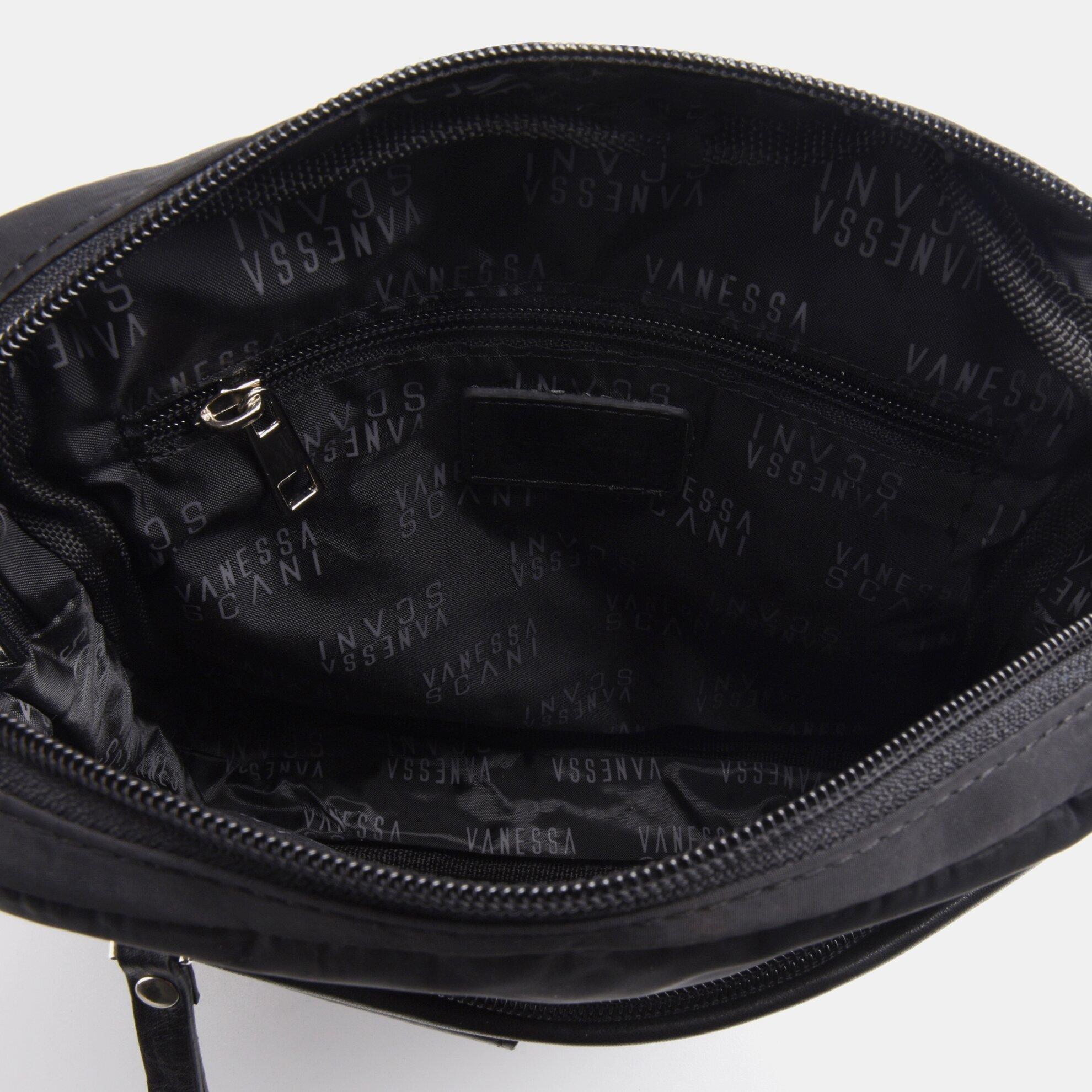 resm Tekstil ve Hakiki Deri Siyah Erkek Çanta