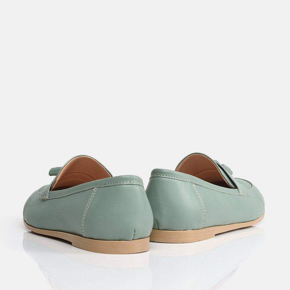 resm Yeşil Yaya Kadın Günlük Ayakkabı