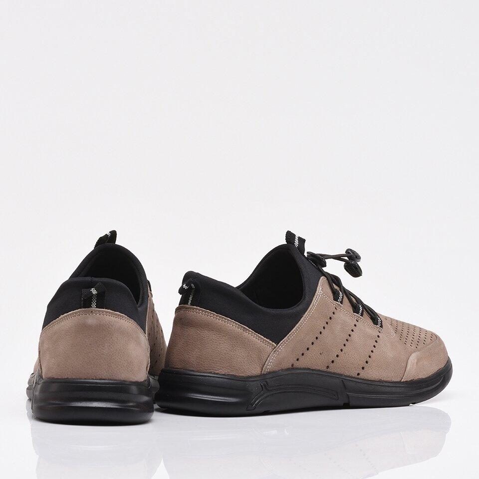 resm Hakiki Deri Vizon Yaya Erkek Spor Ayakkabı