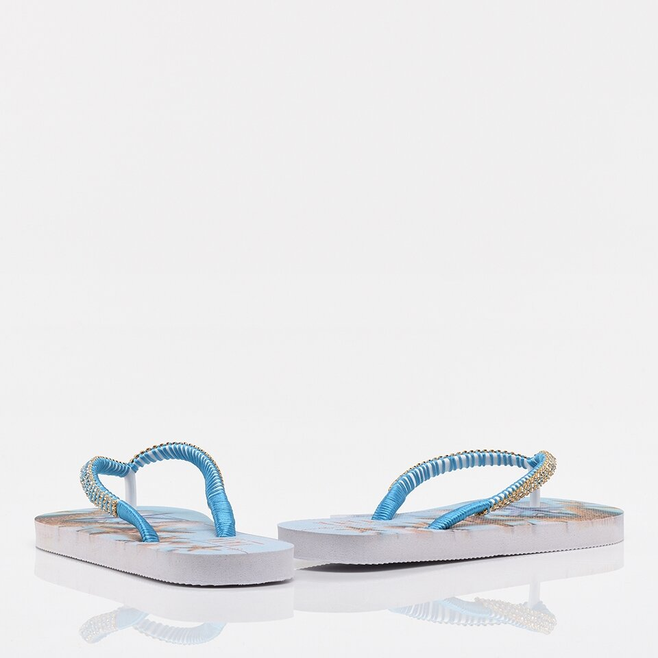 resm Mavi Yaya Kadın Sandalet & Terlik