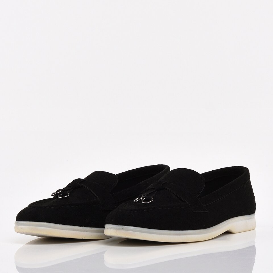 resm Siyah Yaya Kadın Günlük Ayakkabı