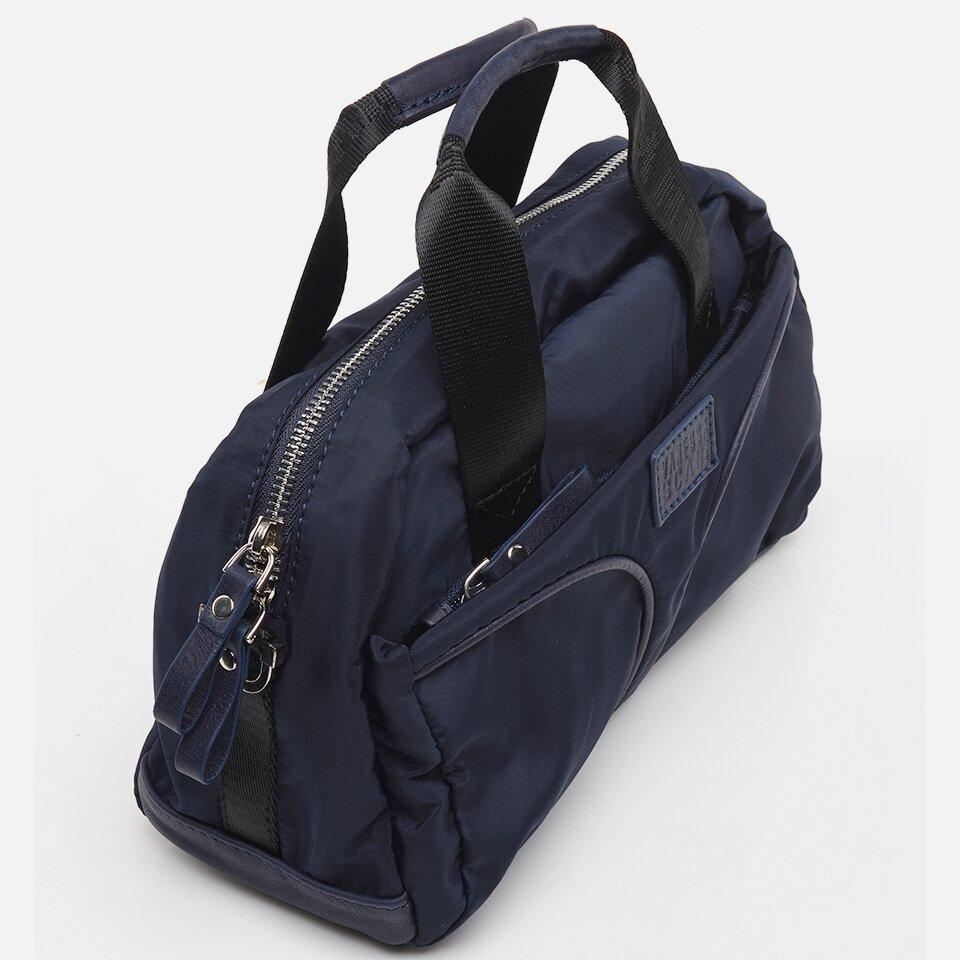resm Hakiki Deri Lacivert Kadın Mini( Çapraz)  Çanta