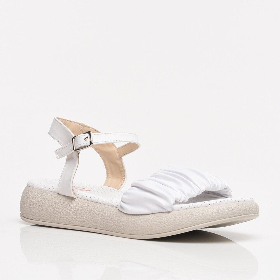 resm Beyaz Yaya Kadın Sandalet & Terlik