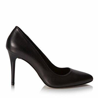 Resim Hakiki Deri  Kadın Stiletto