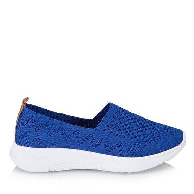 Resim Tekstil Saks Kadın Spor Ayakkabı