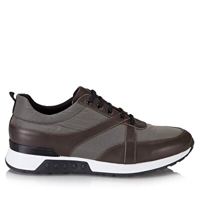 Resim Hakiki Deri Haki Erkek Spor Ayakkabı