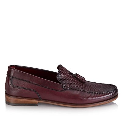 Resim USO BORDO/BURGUNDY LOAFER
