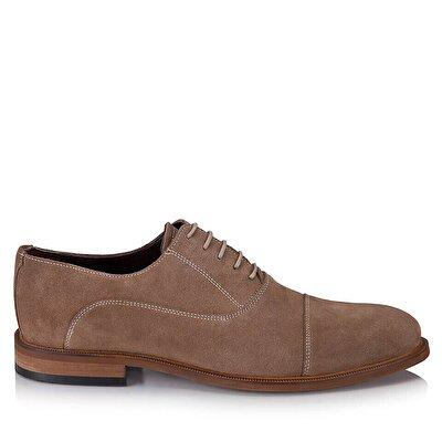 Resim Hakiki Deri Vizon Erkek Klasik Ayakkabı