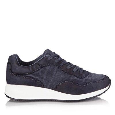 Resim Tekstil Lacivert Erkek Spor Ayakkabı