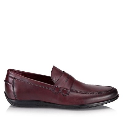 Resim RELLIE BORDO-MAROON LOAFER