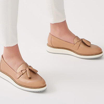 Resim NETTA NATUREL-NUDE OXFORD