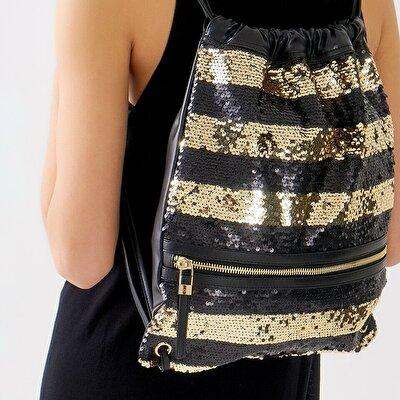 Resim Tekstil Siyah Çanta&Aksesuar Sırt Çantası