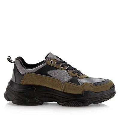 Resim  Haki Erkek Spor Ayakkabı