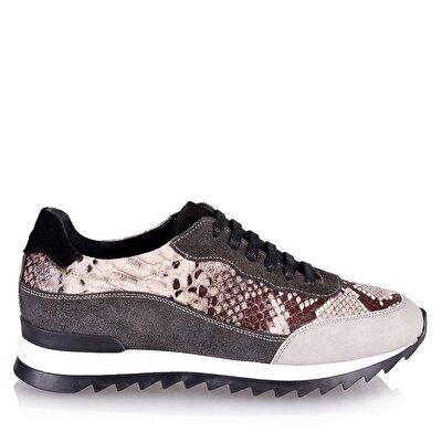 Resim  Gri Kadın Spor Ayakkabı