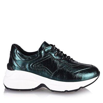 Resim  Yeşil Kadın Spor Ayakkabı