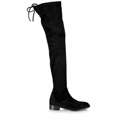 Resim  Siyah Kadın Çizme