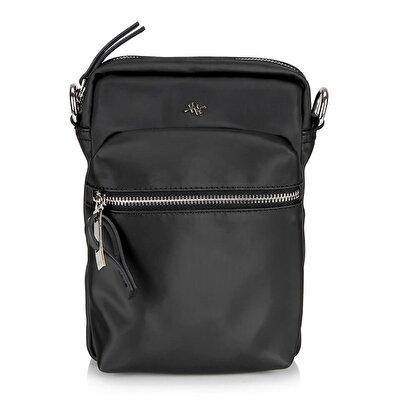 Resim Tekstil Siyah Çanta&Aksesuar Mini (Çapraz) Çanta