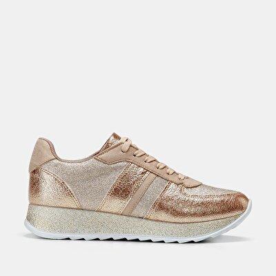 Resim Tekstil Gold Kadın Spor Ayakkabı