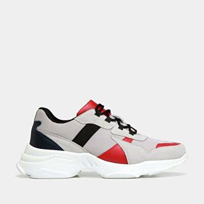 Resim  Gri Erkek Spor Ayakkabı