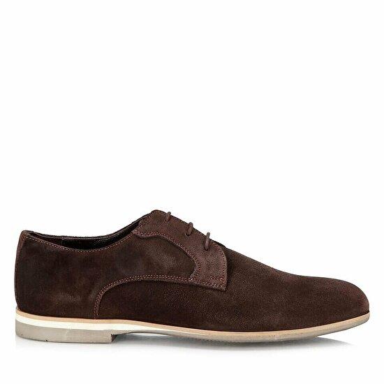 resm Hakiki Deri Kahve Erkek Günlük Ayakkabı