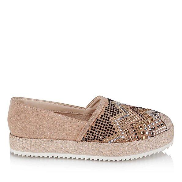 Resim  Pudra Kadın Düz Ayakkabı
