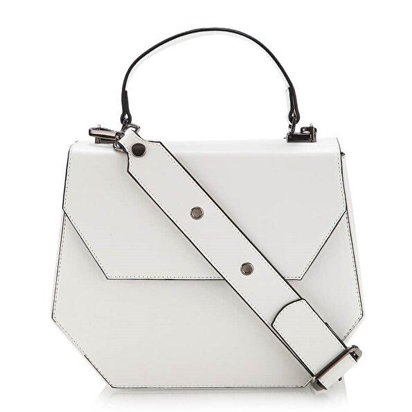 Resim  Beyaz Çanta&Aksesuar Mini (Çapraz) Çanta