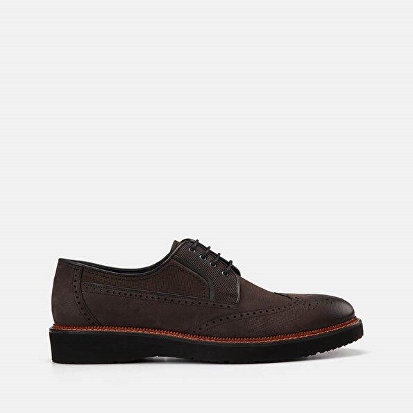 Resim Hakiki Deri Antrasit Erkek Günlük ayakkabı