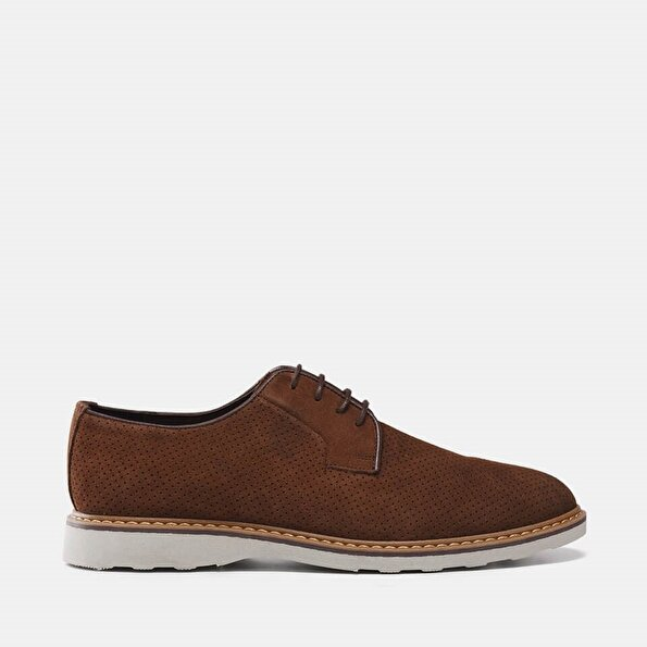 Resim Hakiki Deri Tarçın Erkek Günlük Ayakkabı