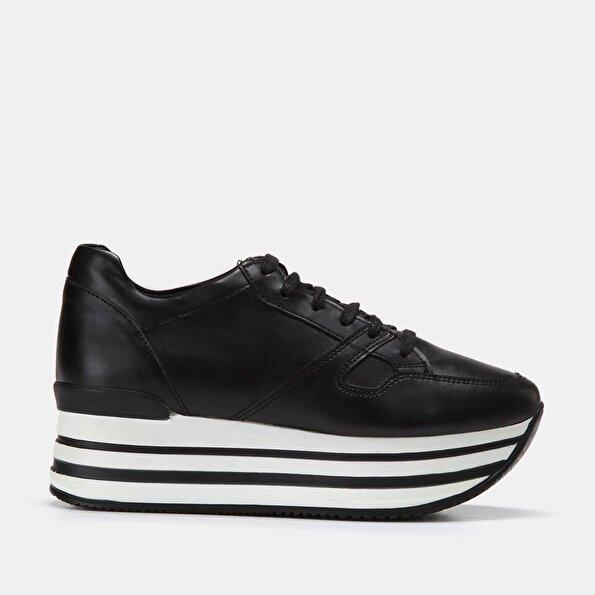 Resim  Siyah Kadın Spor Ayakkabı