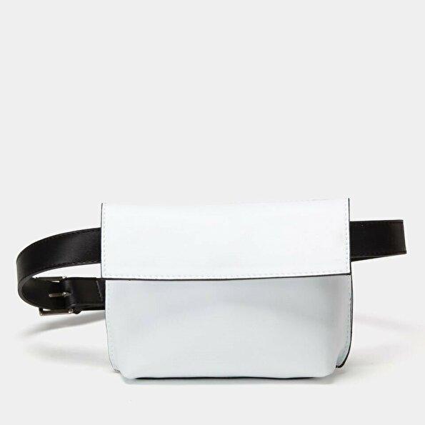 Resim  Beyaz Çanta&Aksesuar Bel Çantası
