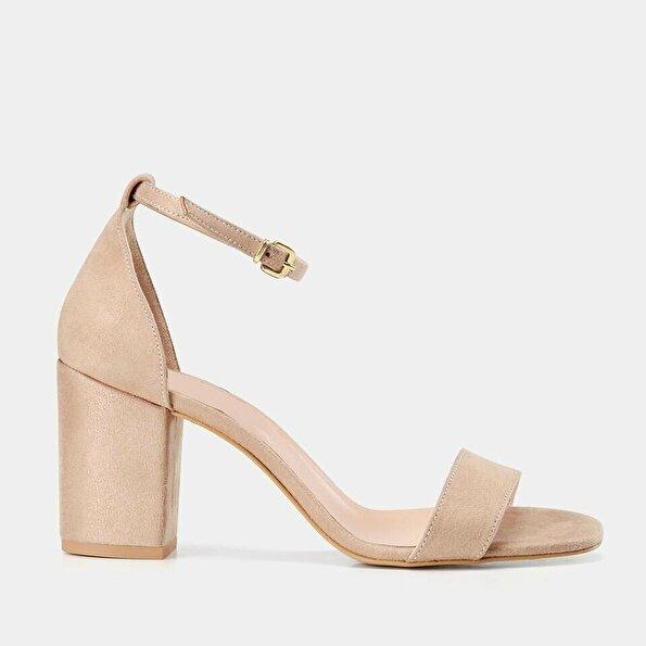 Resim  Camel Kadın Topuklu Sandalet