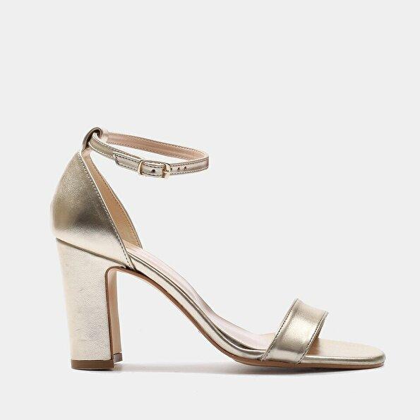 Resim  Gold Kadın Topuklu Sandalet