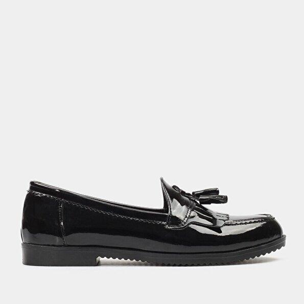 Resim  Siyah Yaya Günlük Ayakkabı