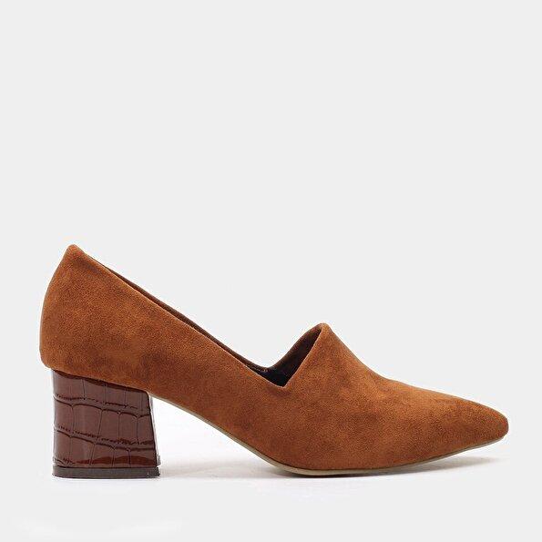 Resim  Taba Yaya Topuklu Ayakkabı