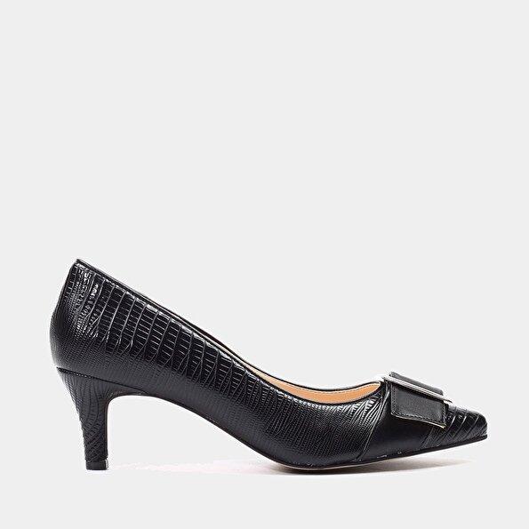 Resim  Siyah Kadın Stiletto