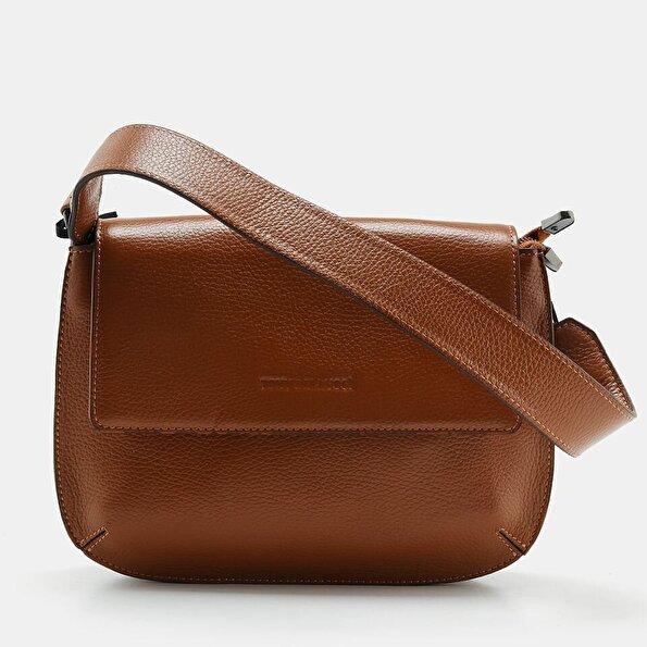 Resim Hakiki Deri Taba Kadın Mini (Çapraz) Çanta