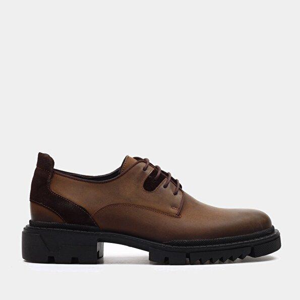 Resim Hakiki Deri Kum beji Erkek Günlük Ayakkabı