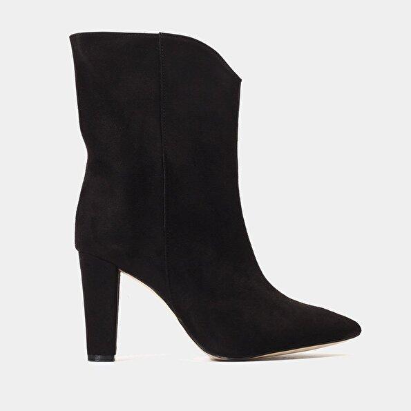 Resim  Siyah Kadın Topuklu Bot