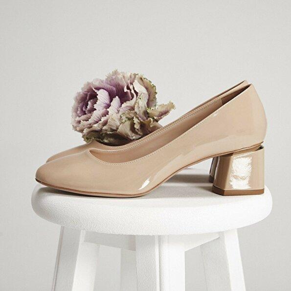 Resim Naturel Kadın Ayakkabı