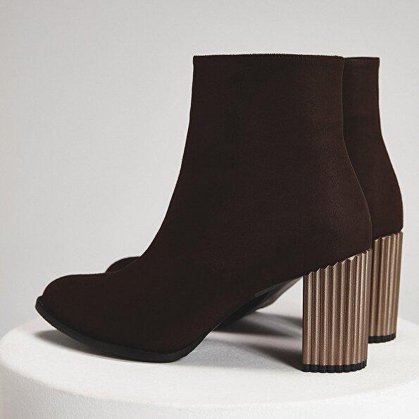 Resim  Vizon Kadın Topuklu Bot