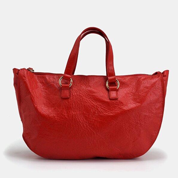 Resim Hakiki Deri Kırmızı Çanta&Aksesuar Çanta