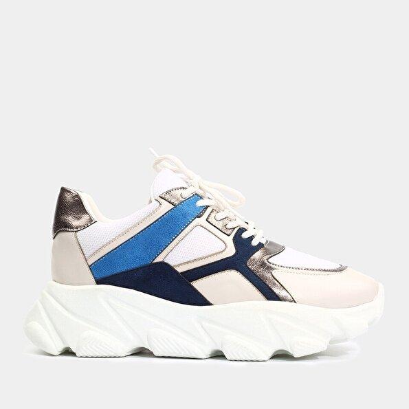 Resim  Mavi Yaya Spor Ayakkabı