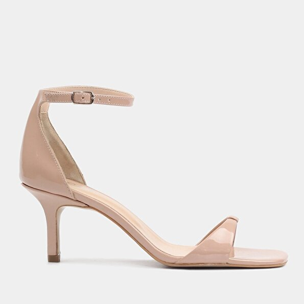 Resim  Pudra Kadın Topuklu Sandalet