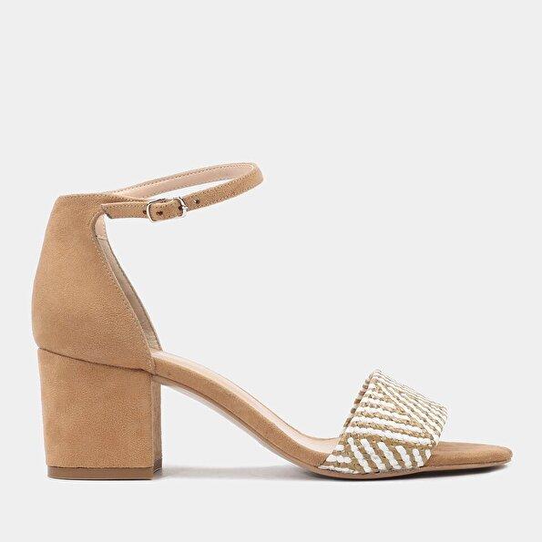 Resim  Vizon Kadın Topuklu Sandalet