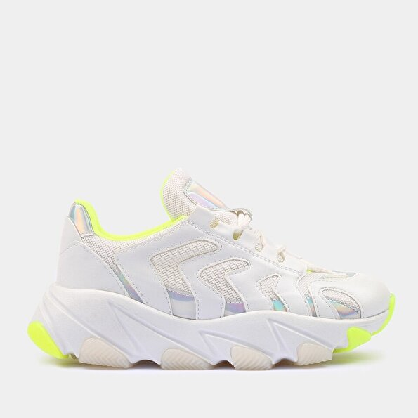 Resim  Beyaz Yaya Spor Ayakkabı