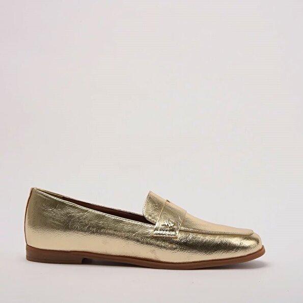 Resim Gold Kadın Loafer