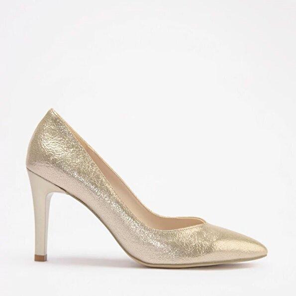 Resim Yaya Gold Kadın Topuklu Ayakkabı