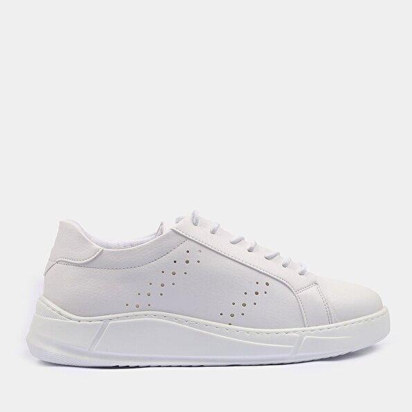 Resim Yaya Beyaz Erkek Spor Ayakkabı