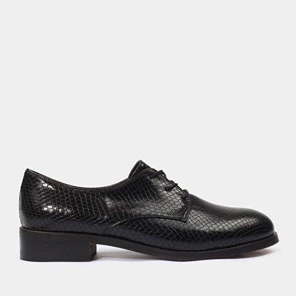 Resim Yaya Siyah Günlük Ayakkabı