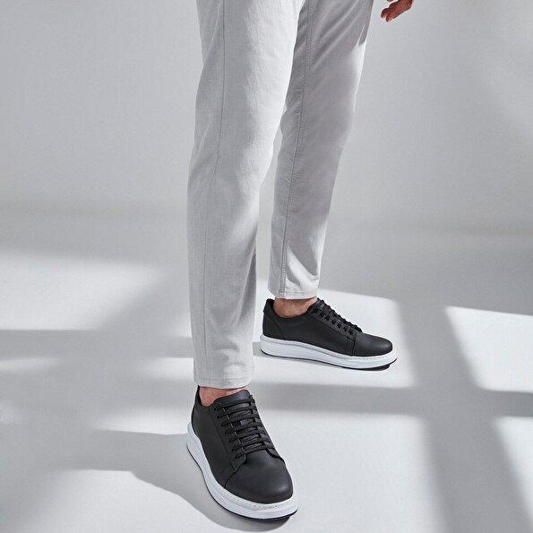 Resim  Siyah Erkek Spor Ayakkabı